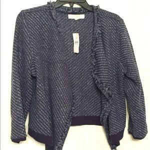 LOFT blue blazer jacket size M